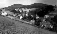 Zaniklá obec Kamenné (Steingrund), kde se narodila Inge Bahrová