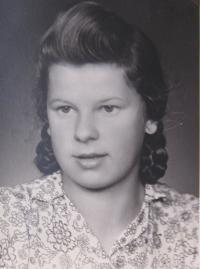 Ingeborg Bahrová v mládí