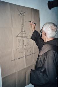 """2000 - každý má nejosobnější přirovnání svého vztahu k Bohu, bratr Benedikt má """"odstartovat k Bohu jako raketa"""""""