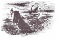 Ježíš Kristus zapřáhl Sv.Prokop, autor: Benedikt Holota