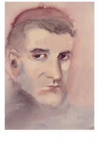 autoportrét z roku 1945