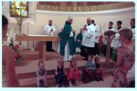 2012 - u příležitosti oslav 90.narozenin bratra Benedikta, řeholní kostel sester františkánského apoštolátu založený otcem Urbanem