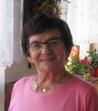 Růžena Grubrová v srpnu 2013