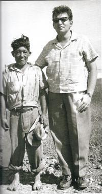 Kuba cca 1962, M. Stingl s yateraským indiánem