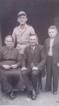 Babička a dědeček F. Černého