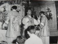 Primície Vojtecha Zemana v r. 1966