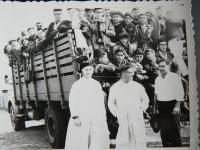 V. Zeman počas svojho pôsobenia v Paraguaji v 60. rokoch