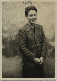 Otto Šimko v roku 1939