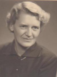 Ludmila Chytilová v roce 1961
