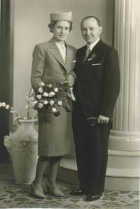 Svatba Ludmily a Bedřicha Chytilových