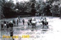 Sraz v Unhošti v roce 1945