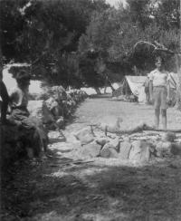 Skautský tábor, Jugoslávie 1936