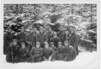 4. četa 5. školní roty, Jindřichův Hradec 1947