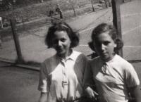 Dita a Raja Engländerová-Žádníková, Hagibor 1941