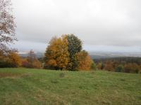 Místo kde stála obec Hřibová - Pilzberg