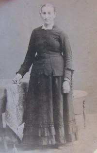 Prababička Elisabet Klamertová