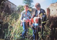 V Hřibové v roce 1994
