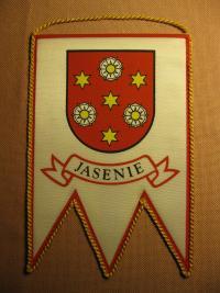 Erb obce Jasenie