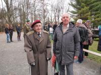 Pamětník na Dni veteránů v Plzni, 11. listopadu 2015