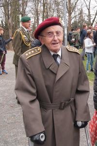 Plukovník Jaroslav Piskáček na Dni veteránů