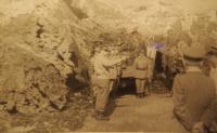 Velitelské stanoviště štábu pluku při divizních taktických cvičeních, Poseč 20. 6. 1969