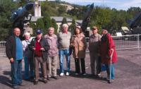 Trip of the Military Association of Rehabilitated from Pilsen to the military museum Lešany, 2014