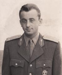 Witness in Bratislava, School of the officers in reserve, 1952