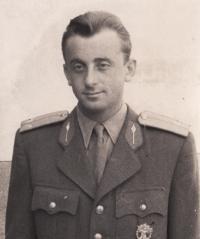 Pamětník v Bratislavě, Škola důstojníků v záloze, 1952