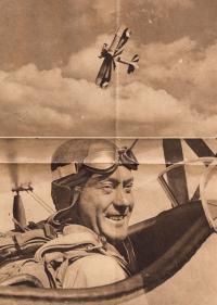Letec kpt. František Novák