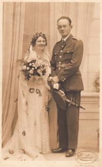 Svatba strýce Františka Nováka, cca 1932