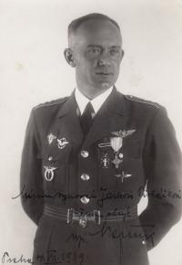 Strýc František Novák, 1939