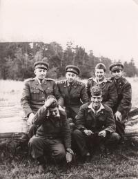 VVP Hradiště, Doupovské hory, cca 1963