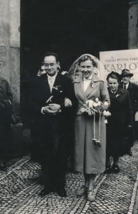 Svatba, 1955