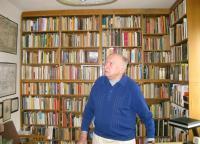 Prof. Kolmaš in his study