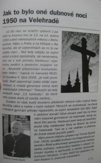 A chapter from the book 'Hrstka osudů' (A Handful of Fates) by Jiří Dunděra, published in Kyjov 2010