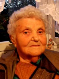 Vlasta Hynčíková, portrét, Úboč, 2014