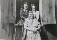 S přítelkyněmi v nuceném nasazení v Norimberku