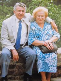 Silvio with his wife