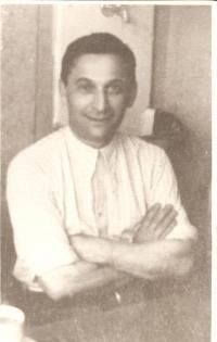 Josef Dub, otec Oskara Duba, 40.léta v Praze