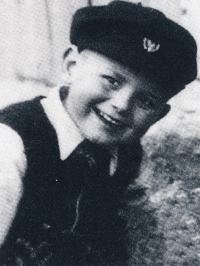 Jiří Anderle as a boy