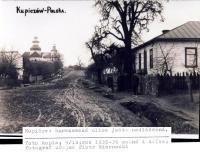 Varšavská ulice v Kupičově