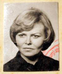 Miloslava Žáková v šedesátých letech