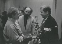 John Bok a Václav Havel