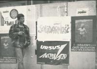 Alexandr Vondra v Polsku v 80. letech