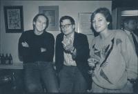 Alexandr Vondra s přáteli