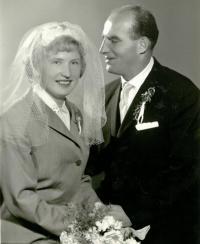 Svatební fotografie, 1963