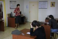 Návštěva žáků ZŠ Brána v jičínském archivu (09/04/2015)