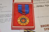 Hasičská medaile Jiřího Nýdrleho