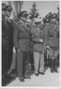 President Beneš in Sezimovo Ústí 29.4.1948