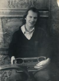 Brno, kde pamětník studoval a pracoval, a zároveň dělal tajný noviciát a studoval tajně teologii,  1982-1983